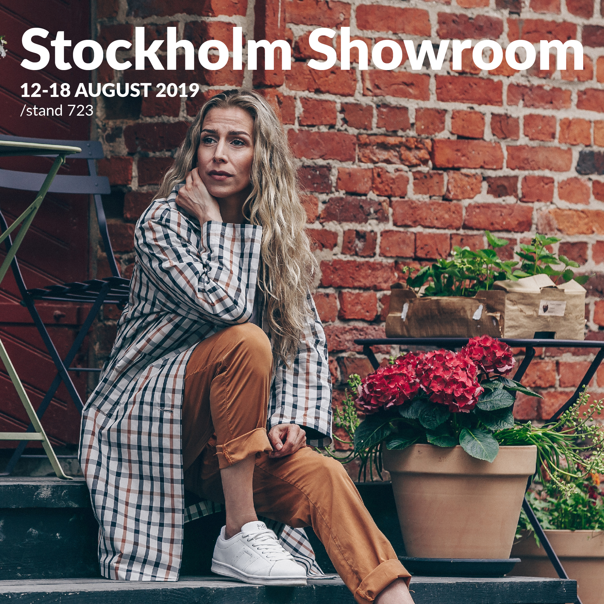 Dixi Coat and Flare Collection S/S 2020 at Stockholm Showroom 2019